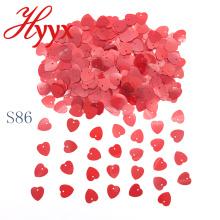 HYYX лучшие продажи Сделано в Китае сердце свадебный стол конфетти