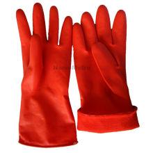 NMSAFETY manga longa 30 cm de cor vermelha de látex de inverno luva da casa peso 40 g / par