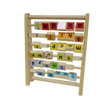 brinquedos de madeira, números de letras de madeira, letras de madeira animada e número