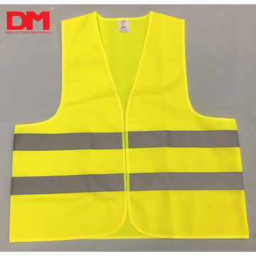 ANSI Class 2 Safety Vest Zipper Front