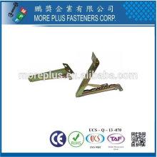 Taiwán Acero inoxidable 18-8 cobre de bronce DIY Muebles Soporte de tapa Soporte de gas de primavera tapa