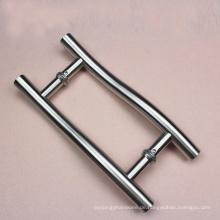 Stahlleiter-Art-Zug-Griff SS-Ende 304 Grad mit kundengebundenem Durchmesser