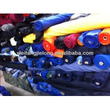 stock de tela textil