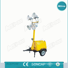 Electric Start Air Cooled 5kVA Light Tower Generator