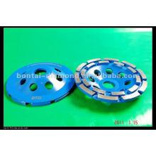 4 5 7 9 дюймов двойной ROW Алмазный сегмент шлифовальный круг шлифовальный круг
