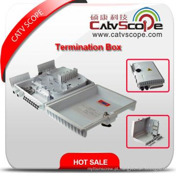 Caixa terminal de alta qualidade de W-16b FTTX / caixa de distribuição de fibra óptica