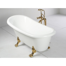 1500mm Acrylic Freestanding Bathtub with Clawfoot
