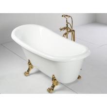 1500mm Acrylic Freestanding Bathtub with Clawfoot