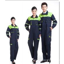 Revestimento e calças de macaco da ordem do OEM ajustaram o uniforme da segurança