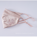 Custom embroidery face mask 100% Mulberry Silk