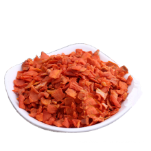 Factory Supplier dried carrot flakes with great price