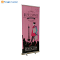 2018 hot selling ads 100cm*180cm roll up banner stand