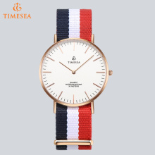 Fashion Nylon Stainless Steel Back Daniel Wellington Style Watch 71255