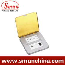 Pop-up Floor Socket DC-2t/1 Spring Type Ultrathin Type Ground Socket