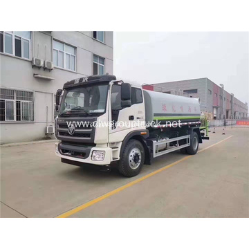 4x2 Foton LHD cheapest 15000liters water tank truck
