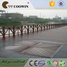 Outdoor Deck covering waterproof wpc deck flooring
