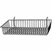 Custom Wire Baskets & Shelves For Slatwall Or Pegboard Wire Shelving Accessories