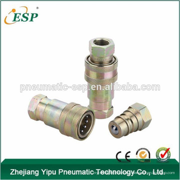 AS-S4 Ball Valves Type hydraulic brass quick connect couplings(Steel )