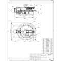 Machine rotatoire automatique de soufflage d'Injectiong de soufflage d'air de PVC
