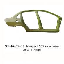 Painel Lateral Inteiro Peugeot 307