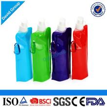 Faltbare Plastikwasserflasche