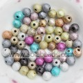 Summer 20mm Pearl Round Bubble Ball Tiny beads