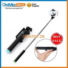 Autoportrait extensible traitée Stick avec support de téléphone réglable conçu pour les Smartphones