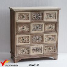 Relif Floral Solid Land Französisch Stil Holzschnitzerei Möbel