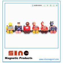 Mode-hölzerner magnetischer Zug für pädagogisches Spielzeug