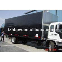 2013 incrível alta resistência à tração PVC poliéster Tarpaulin, Tarpaulin e lona folha para caminhão cobertura