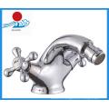 Two Handle Brass Bidet Water Faucet (ZR30310)