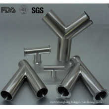 Stainless Steel Sanitary Tee Y Pieces