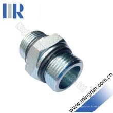 Connecteur de tube de mamelon hydraulique de l'adaptateur O-Ring mâle de Bsp (1G)