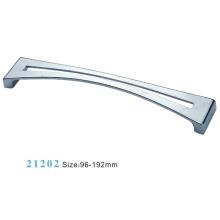 Poignée d'armoire de meuble en alliage de zinc (21202)