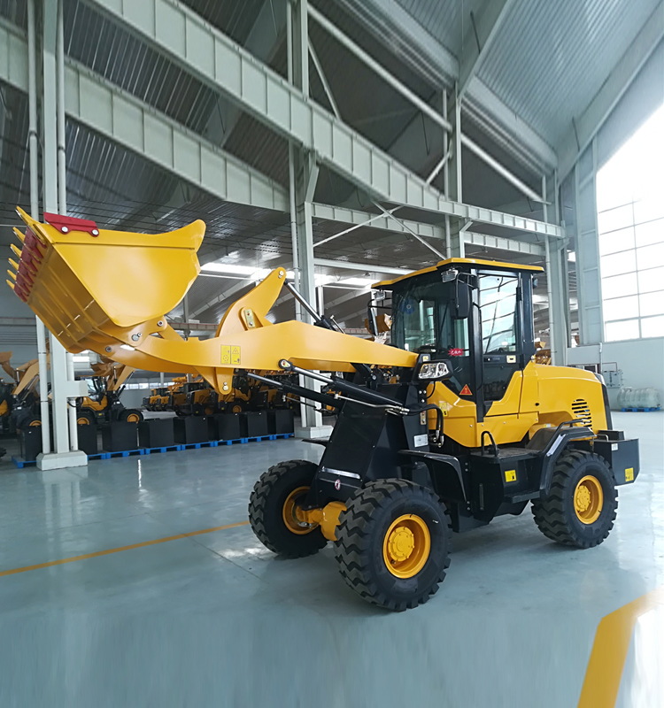 SNSC mini loader factory