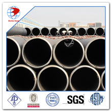 LSAW steel pipe A53 Gr.B varnish painting