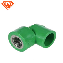 20MM- 110MM Green color PPR Pipe Female Thread Elbow