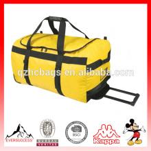 Bolso de lona de alta calidad del equipaje del bolso del equipaje de la bolsa de lona del toldo