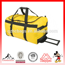 High Quality Tarpaulin Duffle Bag Luggage Bag Rolling Duffel Bag
