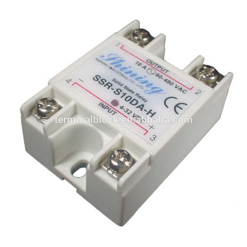 SSR-S10DA-H DC Voltage Controlled 10A Single Solid State Relay