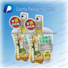 flexible shaped plastic bags/ liquid packing bag/aluminium package shenzhen