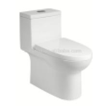 Modèle populaire en Amérique doux fermeture des prix d'une pièce toilette