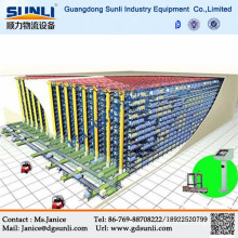 Hot Sale Automated Warehouse A/S R/S System Metal Storage rack