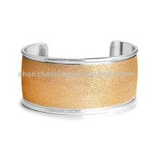 Braceletes de aço inoxidável de venda quente para pulseiras de charme feminino para pulseiras de personalidade da menina