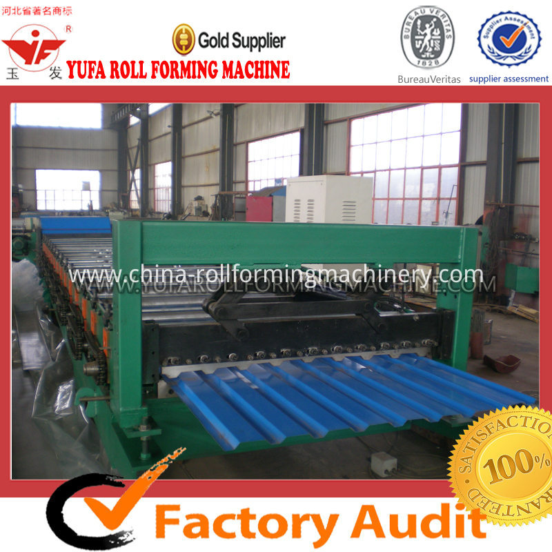 roof panel metal sheet making machine