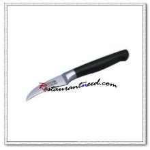 U421 2.5 '' cuchillo de pelado forjado con mango de plástico