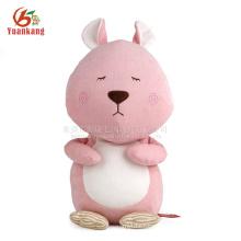 Stuffed Animal Toy,Cute Pink Plush Squirrel Toy
