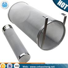 Homebrew hop pellets filter Stainless steel hop basket With holder