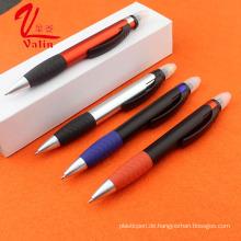 Neuheit Pen Weihnachtsgeschenk Kunststoff Highlighter Kugelschreiber auf Verkauf