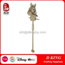 En71 Horse Toys Wooden Stick Horse China Wholesale